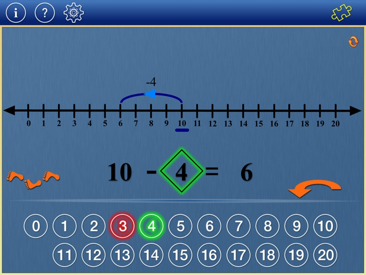 Number Line Math K2 screenshot-3