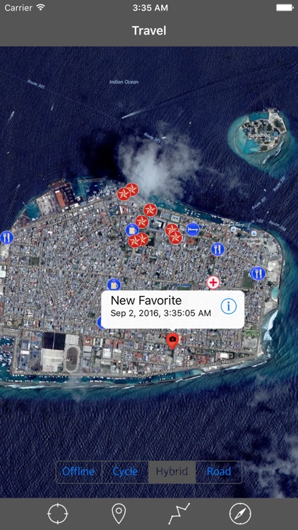 MALDIVES – GPS Travel Map Offline Navigator screenshot-2