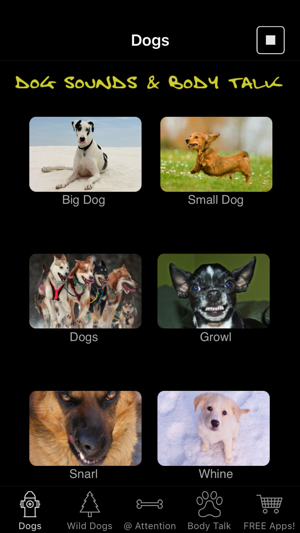 Dog Sounds & Body Talk on the App Store