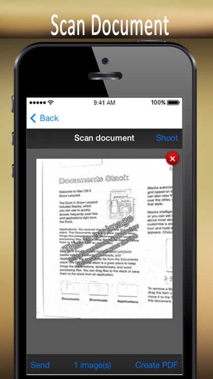 Notes and Scanner Document