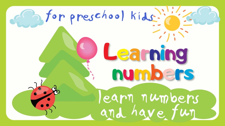 Learning numbers is funny!