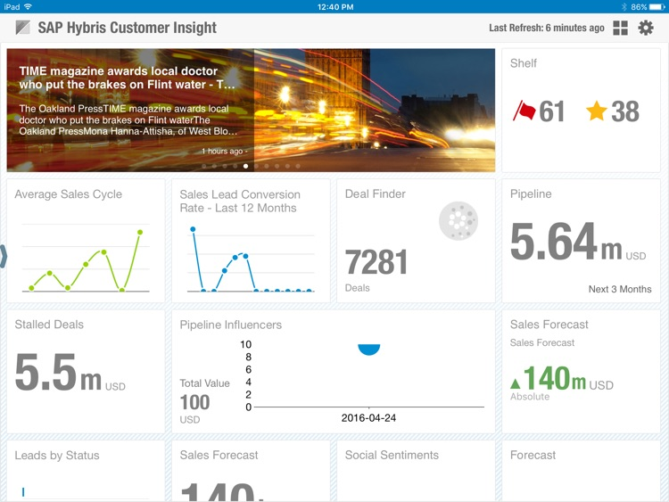 SAP Hybris Customer Insight