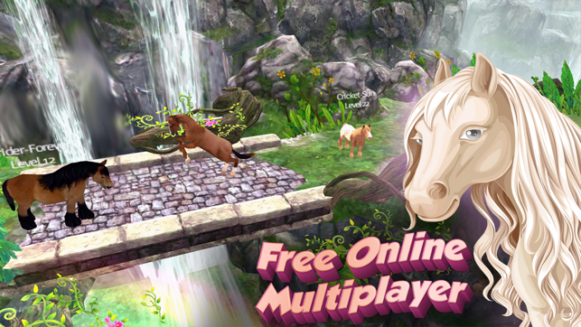 Horse Quest Online 3D Simulator - My Multiplayer Pony Adventure on