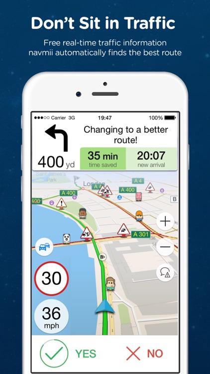 Navmii Offline GPS Thailand