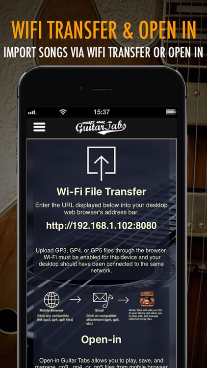 Pocket Jamz Guitar Tabs Lite - Giant Catalog of Interactive Guitar Songs with Tabs, Lyrics and Chords screenshot-3