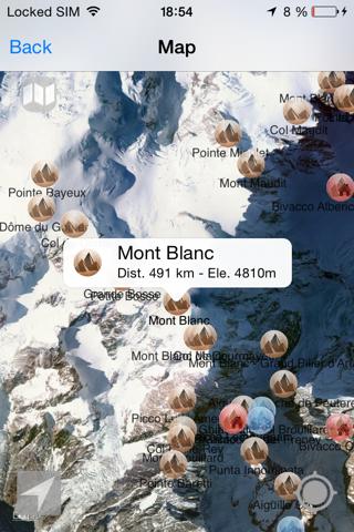 Alpes MontañasCaptura de pantalla de2