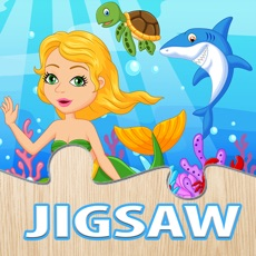 Activities of Mermaid Princess Puzzle Under Sea Jigsaw for Kids
