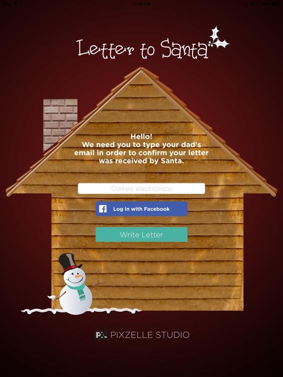 Letter to Santa app