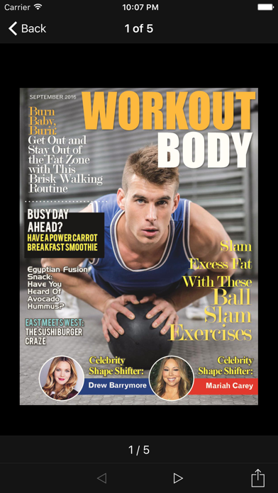 Workout Body Magazineのおすすめ画像2