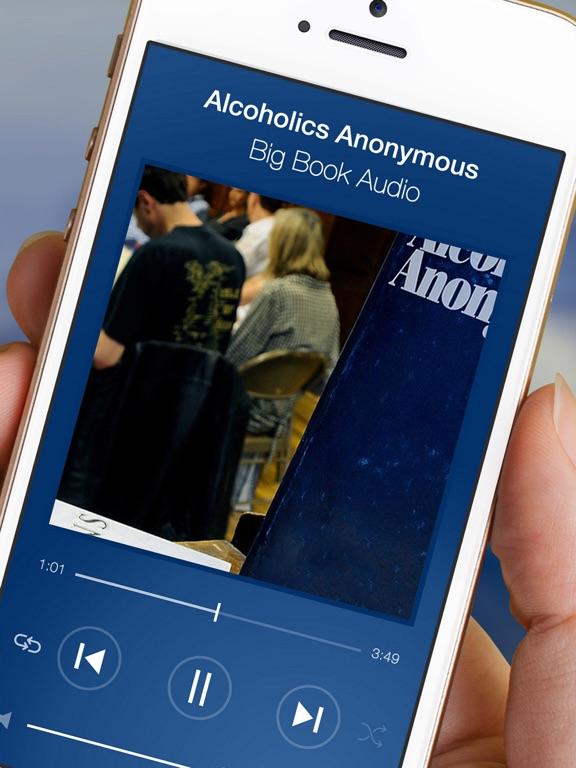 AA Big Book Audio from Alcoholics Anonymous Sober-ipad-1