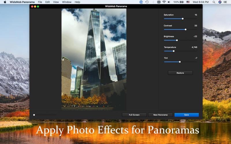 WidsMob Panorama-Photo Stitch screenshot 5