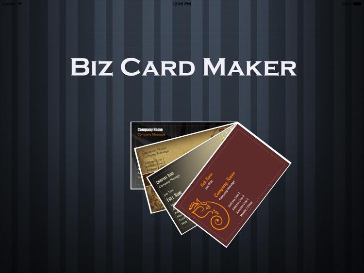 Biz Card Maker