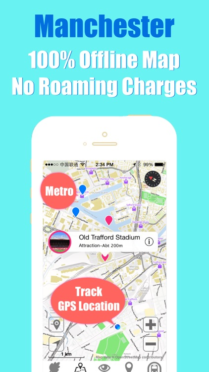 Manchester travel guide and offline city map, Beetletrip Augmented Reality England Metro Train and Walks screenshot-3