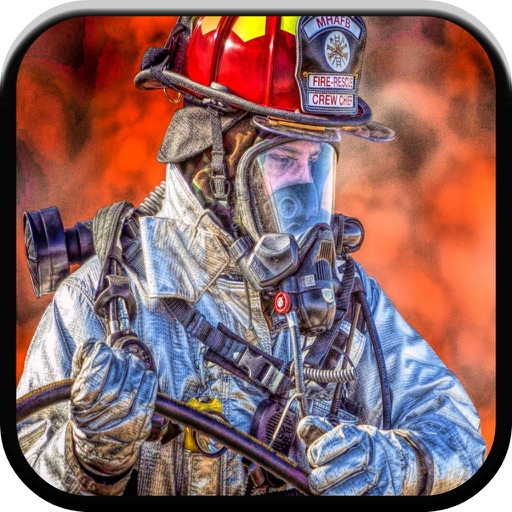 Fun fire truck games for kids free sounds & puzzle iOS App