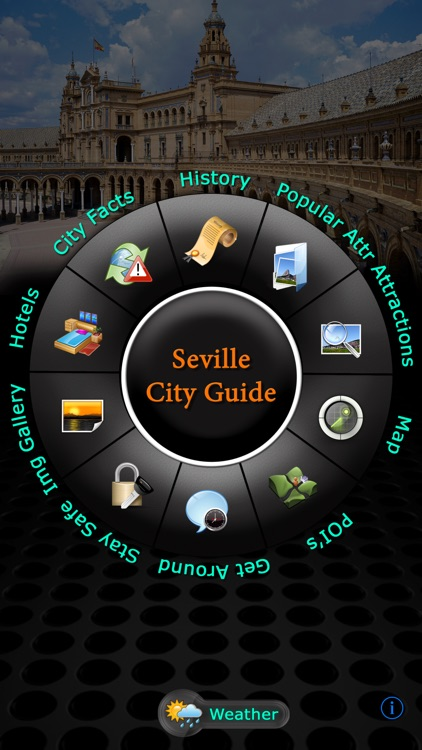 Seville Offline Map Travel Guide