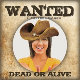 Wanted Posters Maker Selfie Photo Frames & Effects