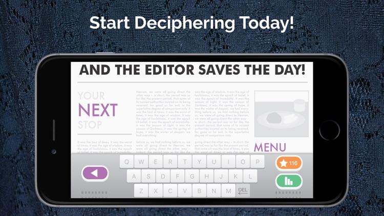 The Editor Cryptograms screenshot-3