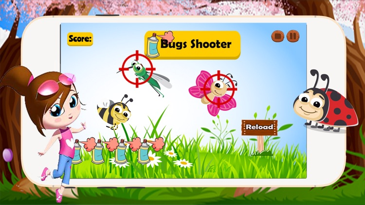 Bugs Halloween: Shooter Monsters Games For Kids