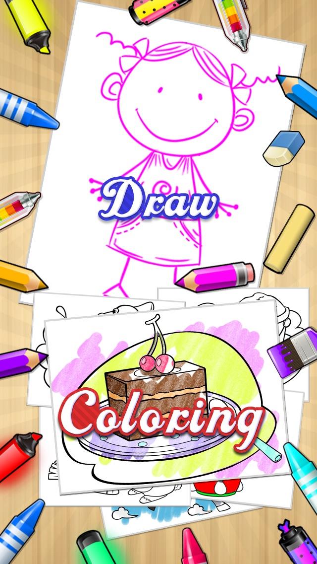 描く + 着色本のおすすめ画像1