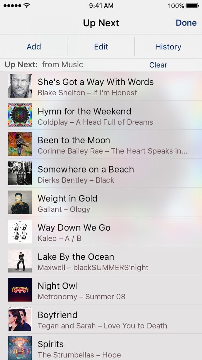 iTunes Remote Screenshot
