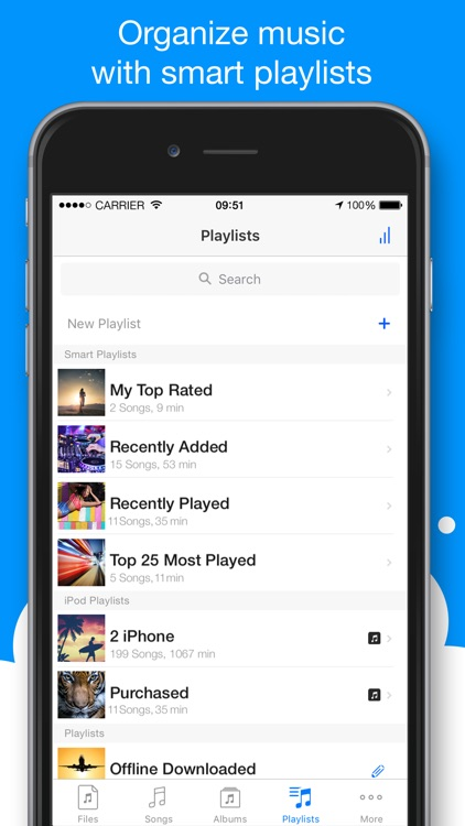 Musicloud - MP3 and FLAC Music Player for Cloud Platforms. screenshot-4