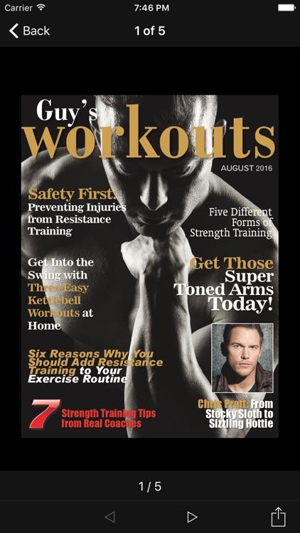 Guy's Workout Magazine