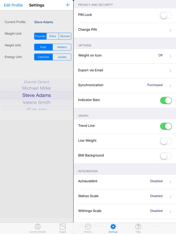Monitor Your Weight HD screenshot-3