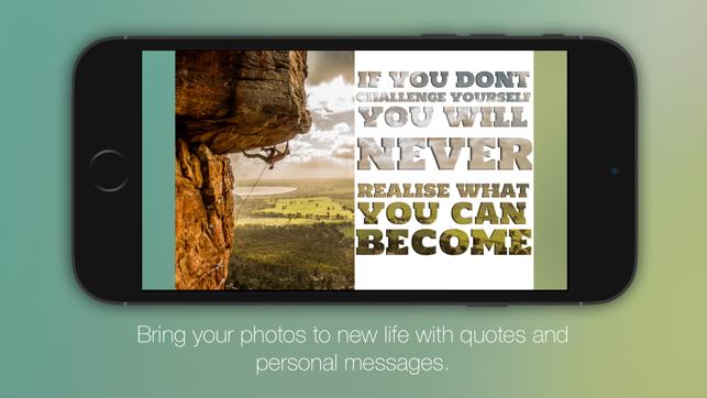 Pexture - Text in photo Screenshot
