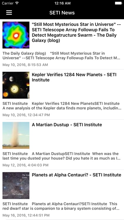 Astronomy & Space News Pro screenshot-4