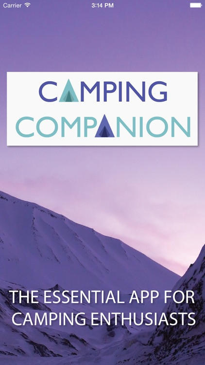 Camping Companion (for iPhone)