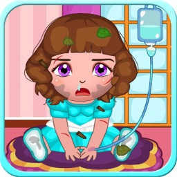 Belle's baby care hospital & dress up (Happy Box) Free Girls Games