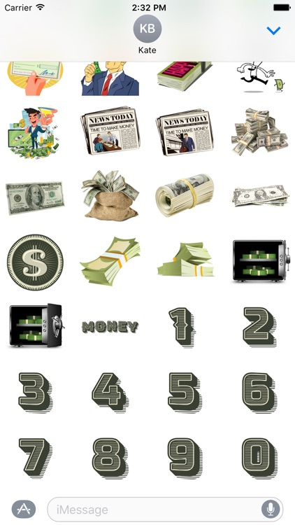 Money Stickers