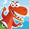 恐龙星球 - 儿童动物拼图找不同及色彩识别益智游戏