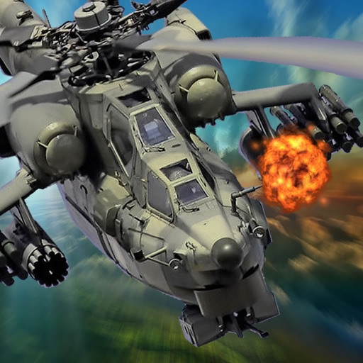 Gunship In Air - Spectacular Game Of Pure Adrenaline