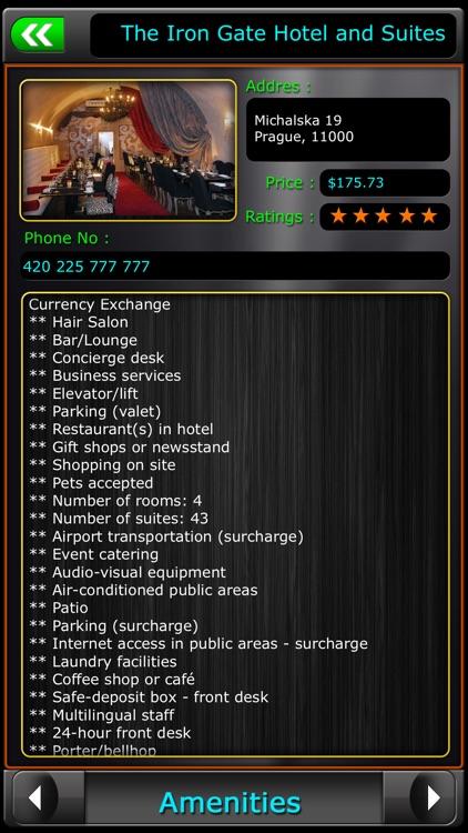 Prague Offline Map Travel Guide screenshot-3