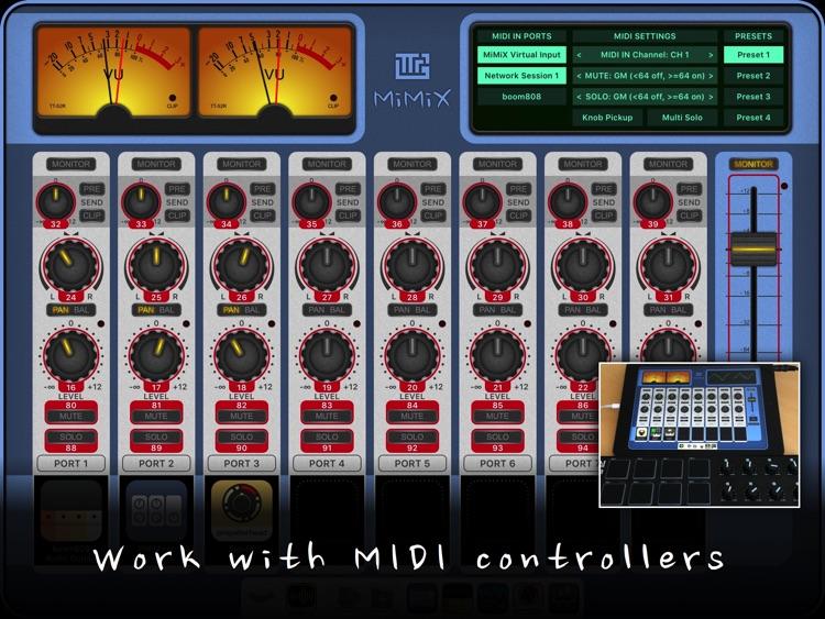 MiMiX - Mixer for Audiobus