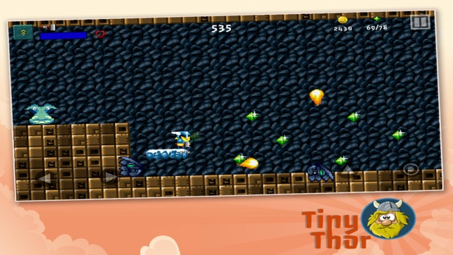 Tiny Thor (Premium) Screenshot