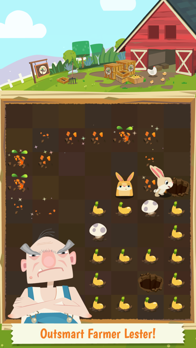 Patchmania KIDS - A Puzzle About Bunny Revenge! screenshot four
