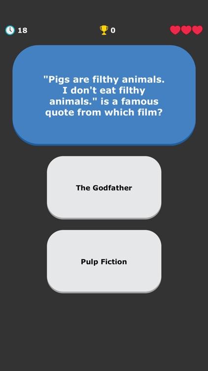 Movies Quiz - Quotes Trivia screenshot-6