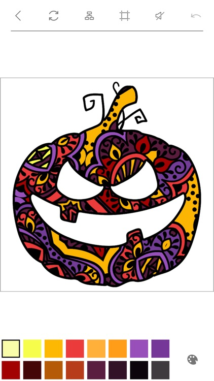 Halloween Coloring Pages Book with Scary Pictures screenshot-3