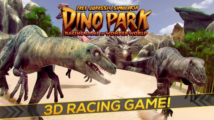 Dino Park: Free Jurassic Simulator in Wonder World Screenshot