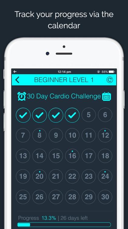 30 Day - Cardio Challenge