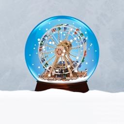 Snow Globe Animated Sticker Pack