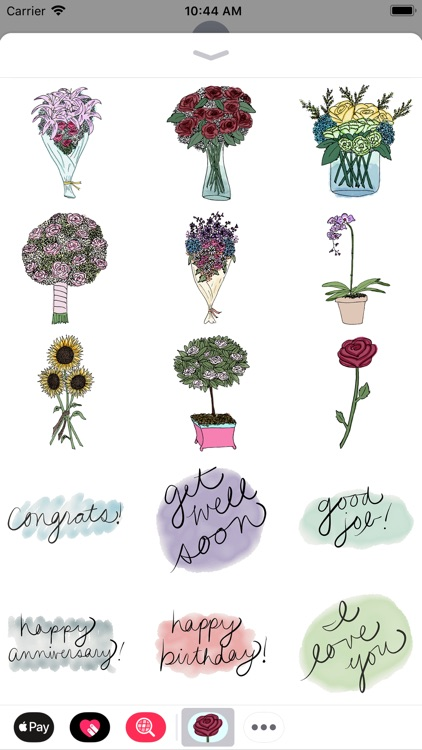 Flower Bouquet Stickers