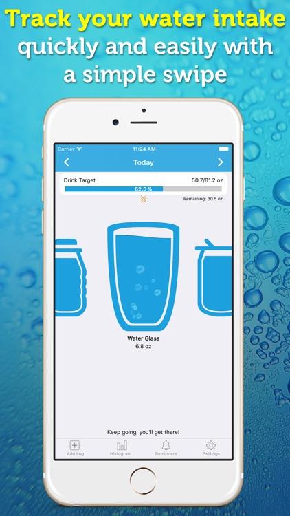 WaterPrompt - Water Intake Tracker & Reminders