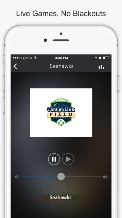 GameTime Football Radio - Stream Live NFL Games screenshot-1
