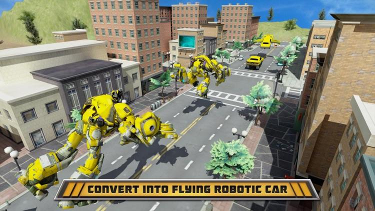Robot War Car Transformation