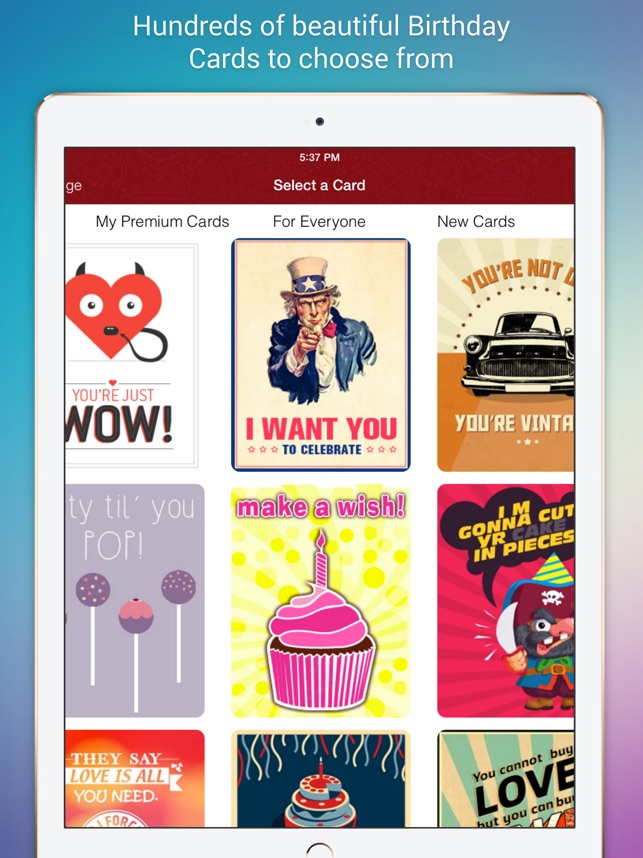 Birthday cards for friends on the app store bookmarktalkfo Gallery