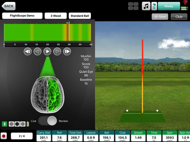 FlightScope VX screenshot-1