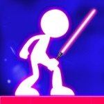 Hack Stickman War Lightsaber Games